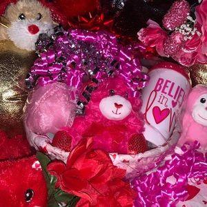 Victoria's Secret Pink Valentine's Gift Basket